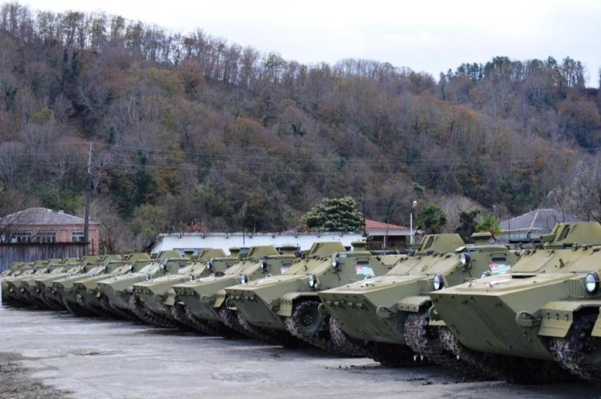 В войсках Министерства обороны Республики Абхазия начался зимний период обучения 2019-2020 года