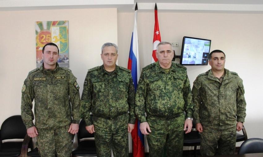 Военнослужащие Министерства обороны приступили к практической подготовке для участия в конкурсе «Саянский марш» в рамках АрМИ-2021.