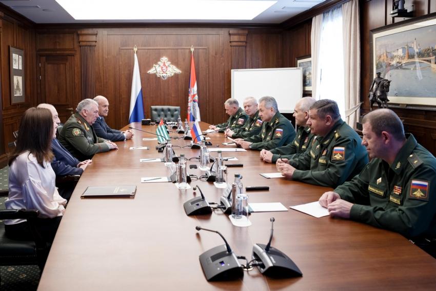 Подписание соглашения о финансировании расходов на модернизацию Вооруженных сил Республики Абхазия