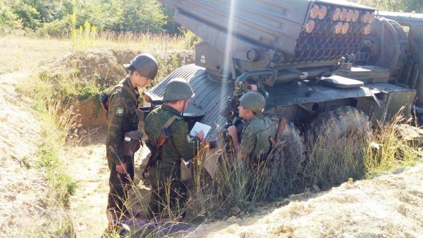 В Вооруженных Силах Республики Абхазия проходит полевой выход артиллерии