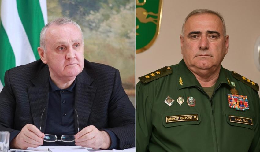 Премьер-министр Александр Анкваб и Министр обороны Владимир Ануа обсудили вопросы материально-технического обеспечения Вооруженных Сил